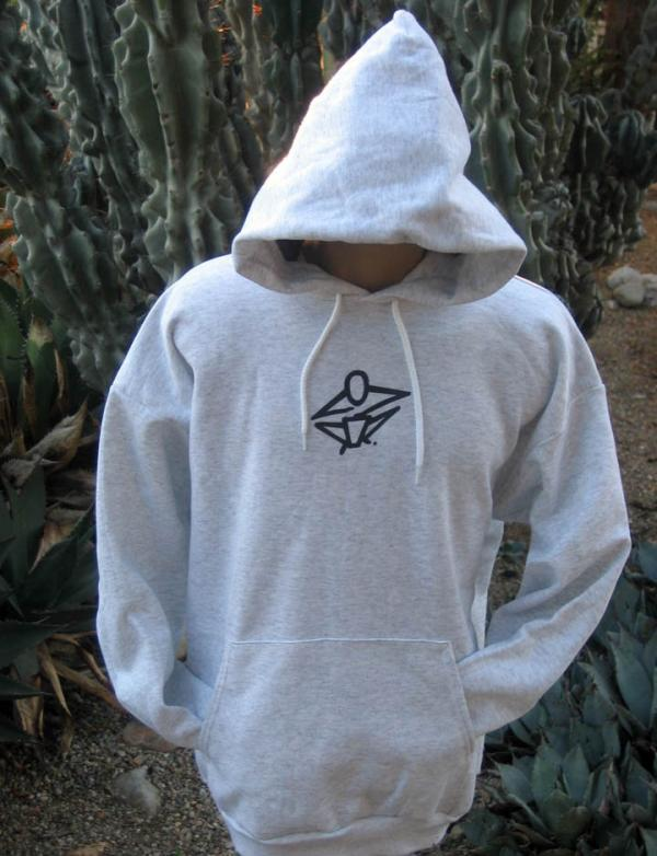 Hooded Sweatshirt - Gray