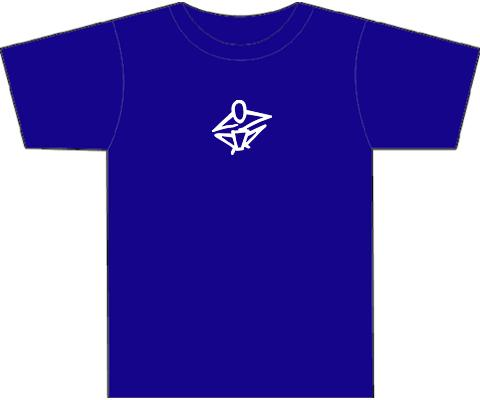 Kotz T-Shirts for Hand Drummers & Percussionists - Blue