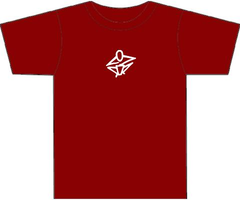 Kotz T-Shirts for Hand Drummers & Percussionists - Dark Red