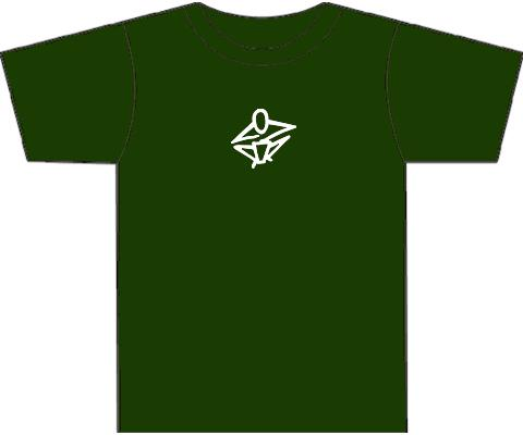 Kotz T-Shirts for Hand Drummers & Percussionists - Dark Green