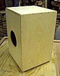 Kotz Cajon: Kotz Box™ w/ Strings - Professional Road Tested Cajon
